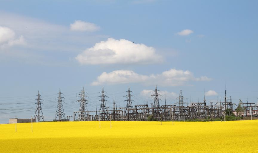This is a picture of a power station that symbolizes an ERCOT power failure insurance claim lawyer.